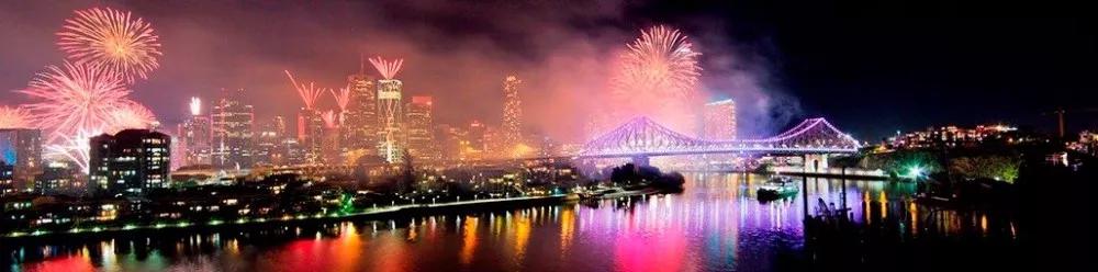Brisbane Festival开幕!超炫灯光秀今晚上演!烟花大会、音乐节超多免费活动等你来玩!