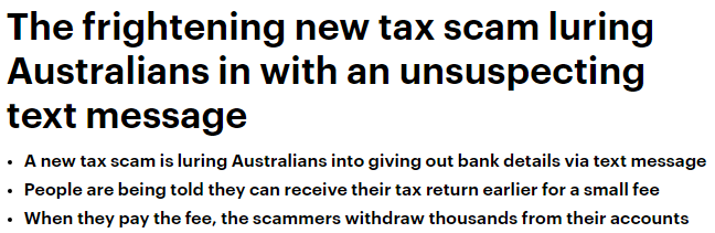 澳洲华人小心!只因一条短信,银行里的钱全没了!