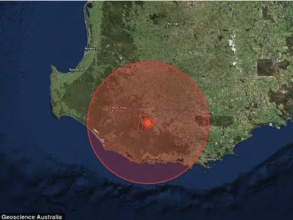 刚刚西澳又发生4.7级地震!百公里外房屋都在摇晃