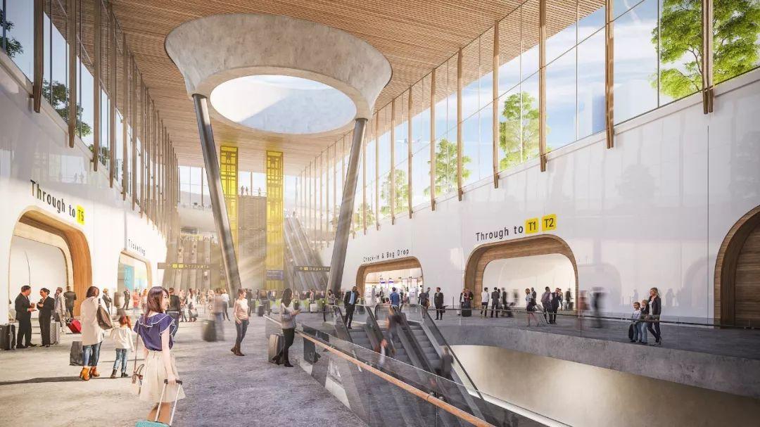 墨尔本机场突然官宣5亿澳元的大改造计划 T2更高端了!