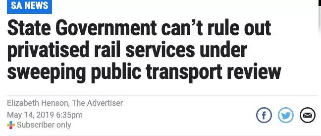 阿德莱德公共交通将迎来重大调整?或推高票价!班次变少!