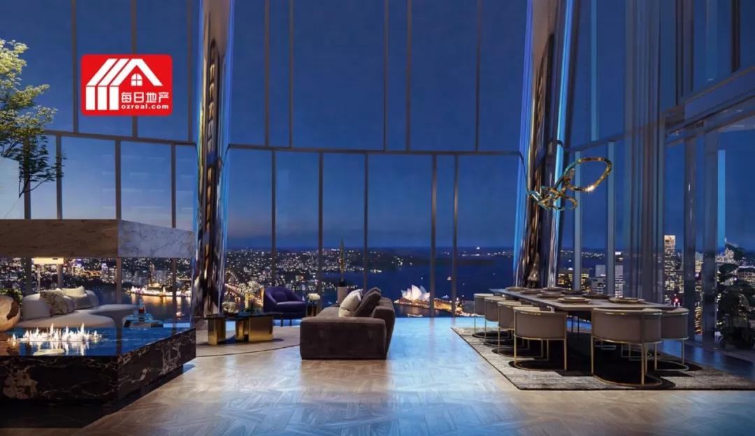 每日地产丨One Barangaroo售出四套超4000万澳元的豪华公寓