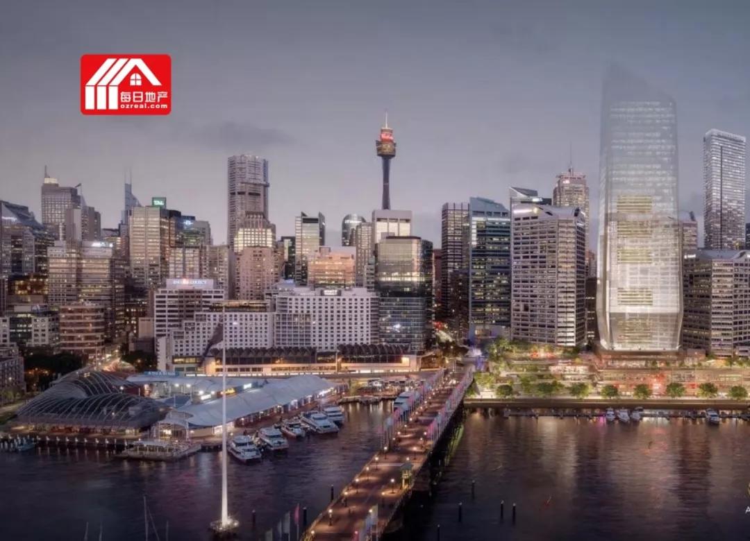 每日地产丨悉尼达令港Cockle Bay 价值6.5亿的项目获批